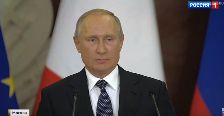"""Putin zum Dollar: """"Sie schießen sich nicht nur ins Knie, sondern etwas höher!"""""""