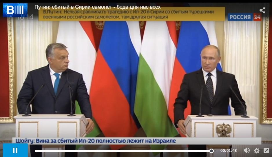 Abgeschossenes russisches Flugzeug – Der Spiegel stellt Putins Aussagen falsch dar
