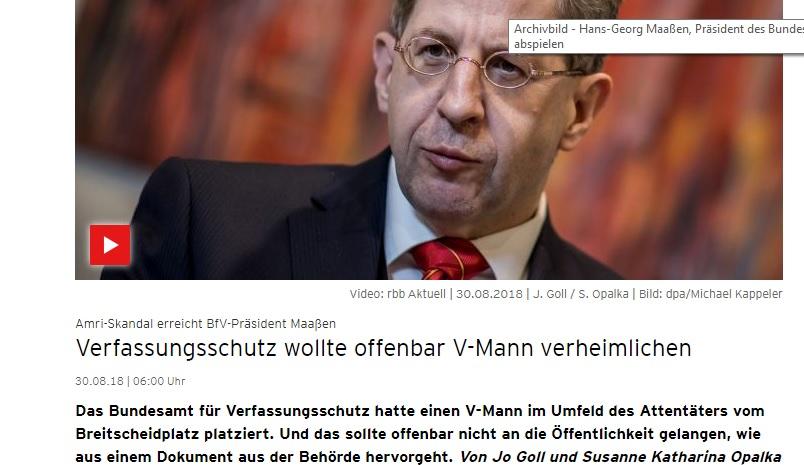 Der Fall Amri – Staatsterrorismus in Deutschland oder geballte Inkompetenz beim Verfassungsschutz?