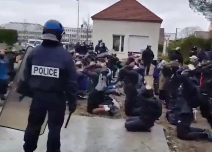 Proteste in Frankreich – Bilder von Polizeigewalt werden in Deutschland nicht gezeigt