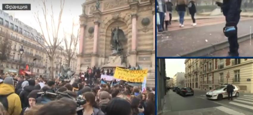 """Proteste in Frankreich: Alarmstufe Gelb – Studenten rufen zum """"Schwarzen Freitag"""" in Paris"""