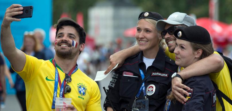 WM 2018 in Russland: Die Welt zu Gast bei Freunden