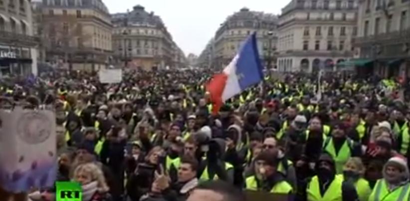 Trotz aller Bemühungen der französischen Regierung – Gelbwesten protestieren wieder