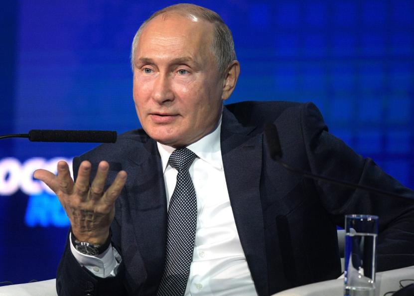 """Putins Rede an die Nation: Der Spiegel erfindet mal wieder """"Putins Drohungen"""""""