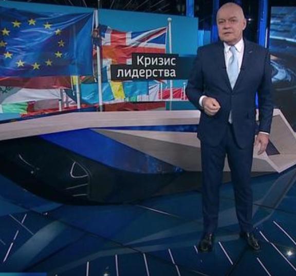 Die Sicht der Anderen: Das russische Fernsehen über die Führungskrisen in der EU