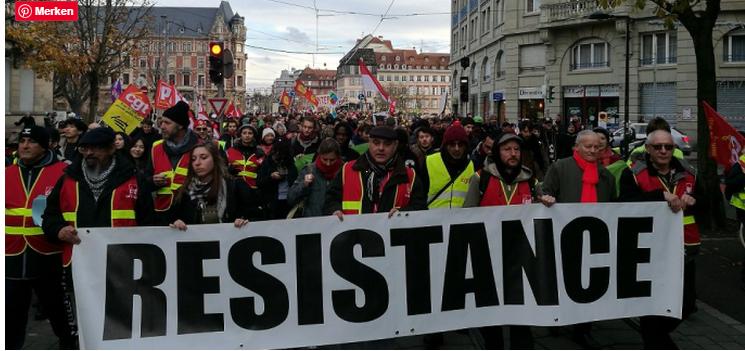 In Deutschland gemeldete Teilnehmerzahlen der Gelbwesten offenbar geschönt