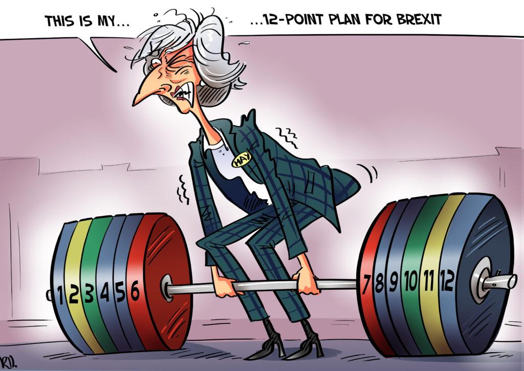 Brexit: London sitzt in der Falle und kann nur verlieren, Zufriedenheit in der EU