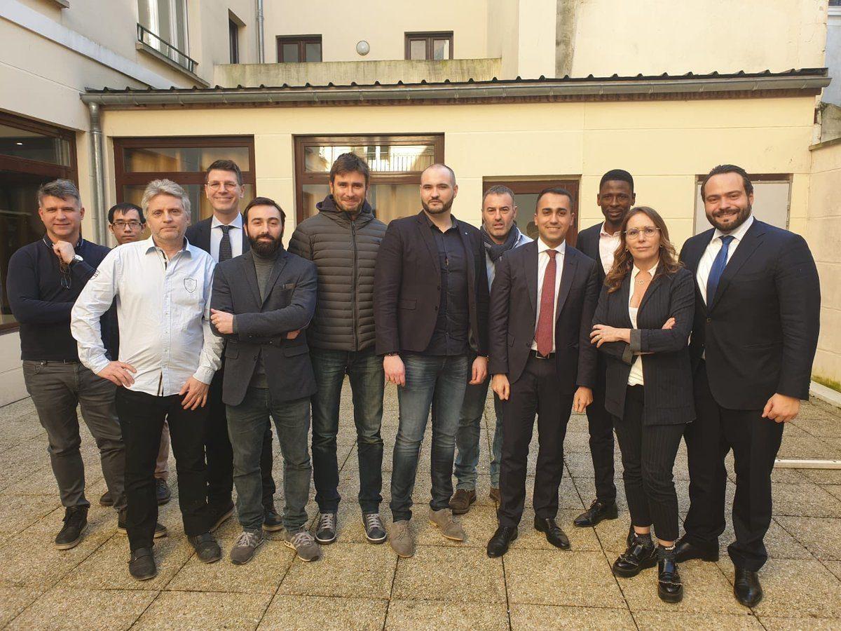 Italienischer Vizepremier trifft Gelbwesten: Frankreich ruft Botschafter aus Italien zurück