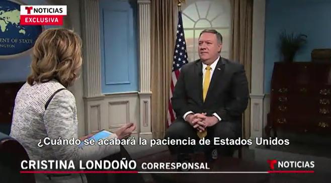 TV-Interview: Pompeo kündigt US-Interventionen auch in Nicaragua und auf Kuba an