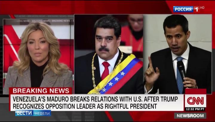 Das russische Fernsehen über die Vorbereitungen für eine Invasion Venezuelas durch die USA