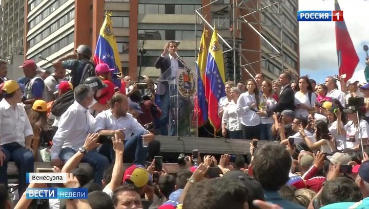 Das russische Fernsehen über Risse in der venzuelanischen Opposition
