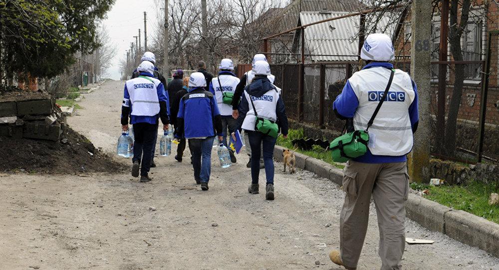 Das russische Außenministerium über militärische Provokationen von Kiew im Donbass