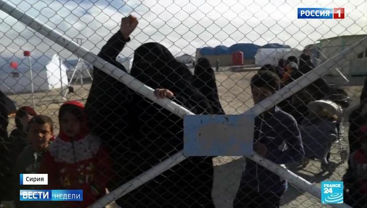 Das russische Fernsehen über das Problem der Rückkehr europäischer Dschihadisten aus Syrien