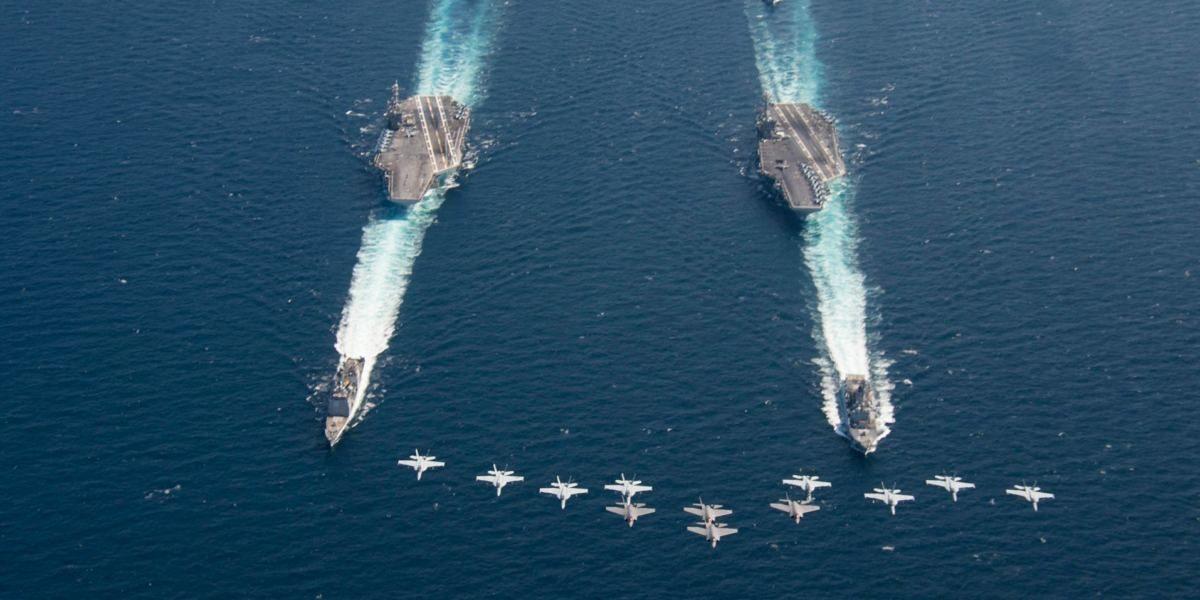 Pulverfass Naher Osten: USA schicken weiteren Flugzeugträger – Eskaliert die Krise um den Iran?