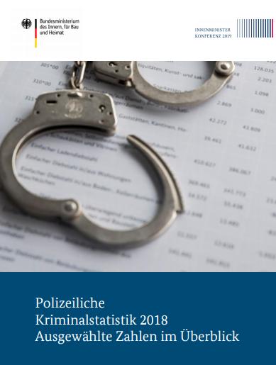 Kriminalstatistik 2018: Kriminalität leicht gesunken, Ausländerkriminalität bei 30,5%, mehr Gewalt- und Drogendelikte
