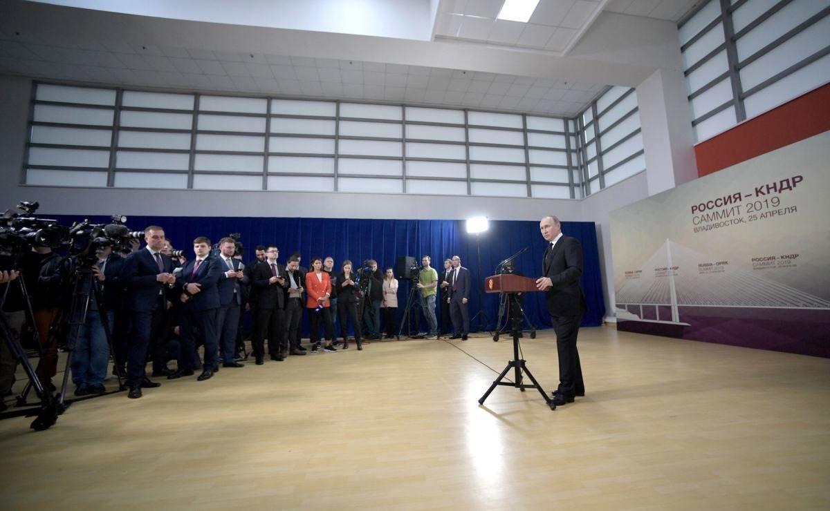 Pressekonferenz: Was sagt Putin selbst zur Situation in der Ukraine?