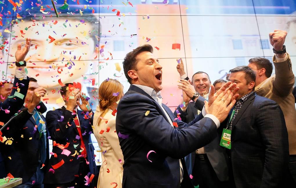 Präsidentschaftswahl Ukraine: Selensky siegt haushoch, Poroschenko erkennt Niederlage an