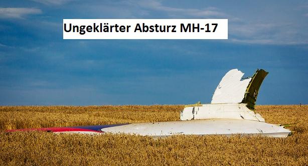 Und MH17? Medien melden Fälschungen bei holländischer Untersuchung zu Flugzeugabsturz 2009