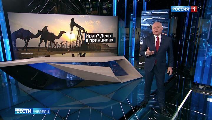 Deutliche Worte: Das russische Fernsehen zu US-Sanktionsdrohungen gegen Käufer von iranischem Öl