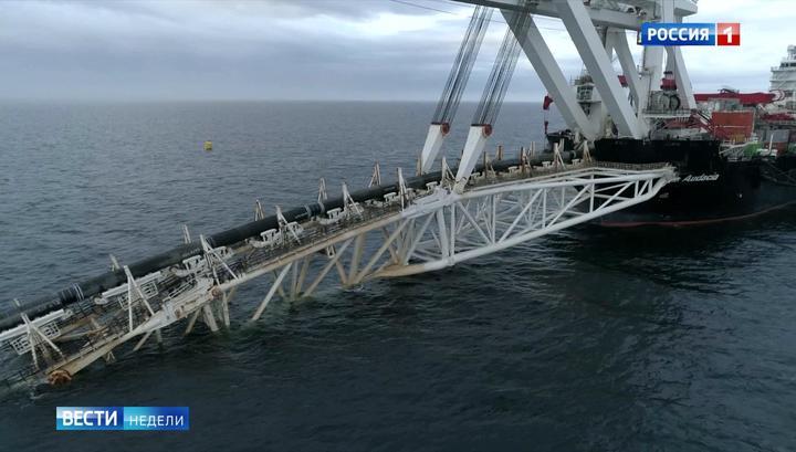 Das russische Fernsehen über den Kampf der USA gegen Nord Stream 2