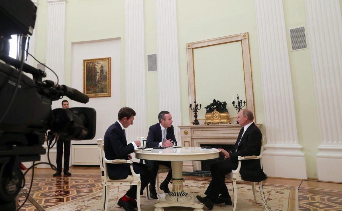 Interview mit der Financial Times: Putin im O-Ton über Ölpreise, Trump und die Globalisierung