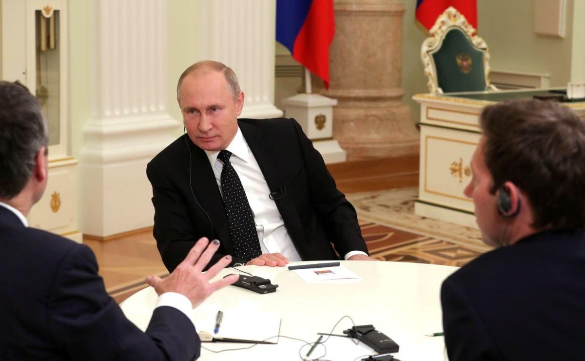 Interview mit der Financial Times: Putin im O-Ton über Nordkorea, Syrien und Venezuela