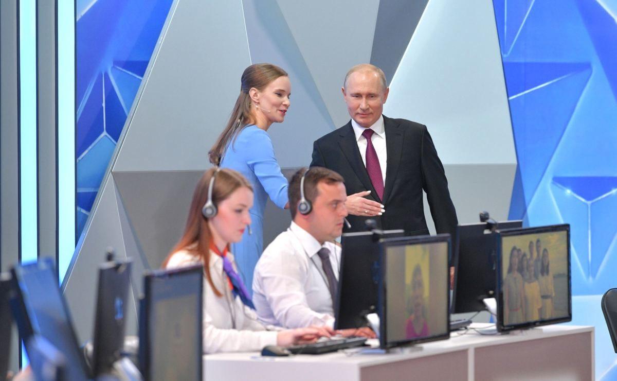 Fragestunde in Moskau: Putin im O-Ton über das Verhältnis zum Westen und zur Ukraine