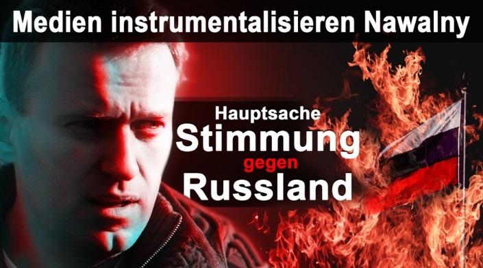 Giftanschlag auf Navalny?