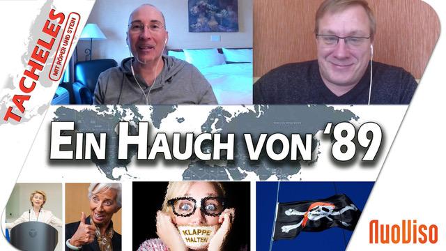 """Trotz Sperrung von NuoViso: Die neue Folge von """"Tacheles"""" ist da"""