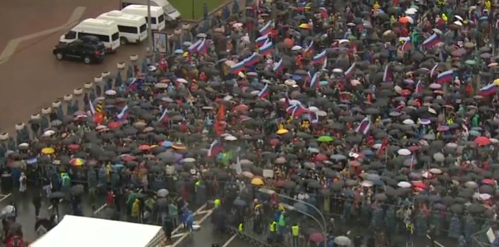 Heutige Proteste in Moskau – Ein erster Überblick
