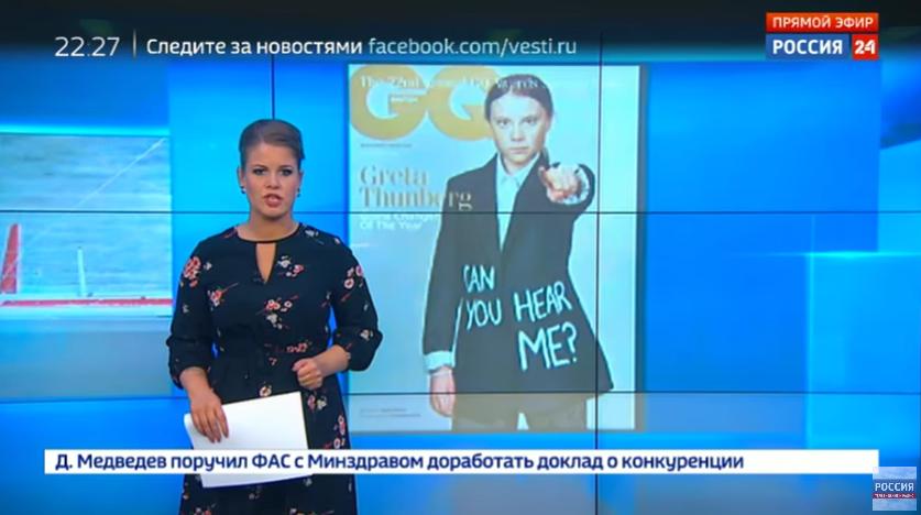In Deutschland kaum vorstellbar: Wie in Russland über Greta berichtet wird