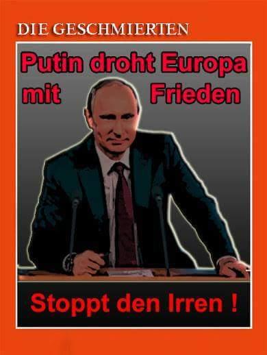 Dilemma für deutsche Medien: Wie stellt man einen Abrüstungsvorschlag von Putin in ein schlechtes Licht?