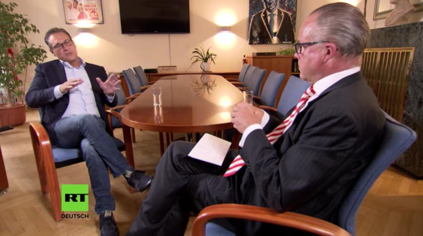Strache gibt erstes Interview – Medien verschweigen den Inhalt