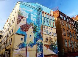 Graffiti-Kunst in Russland