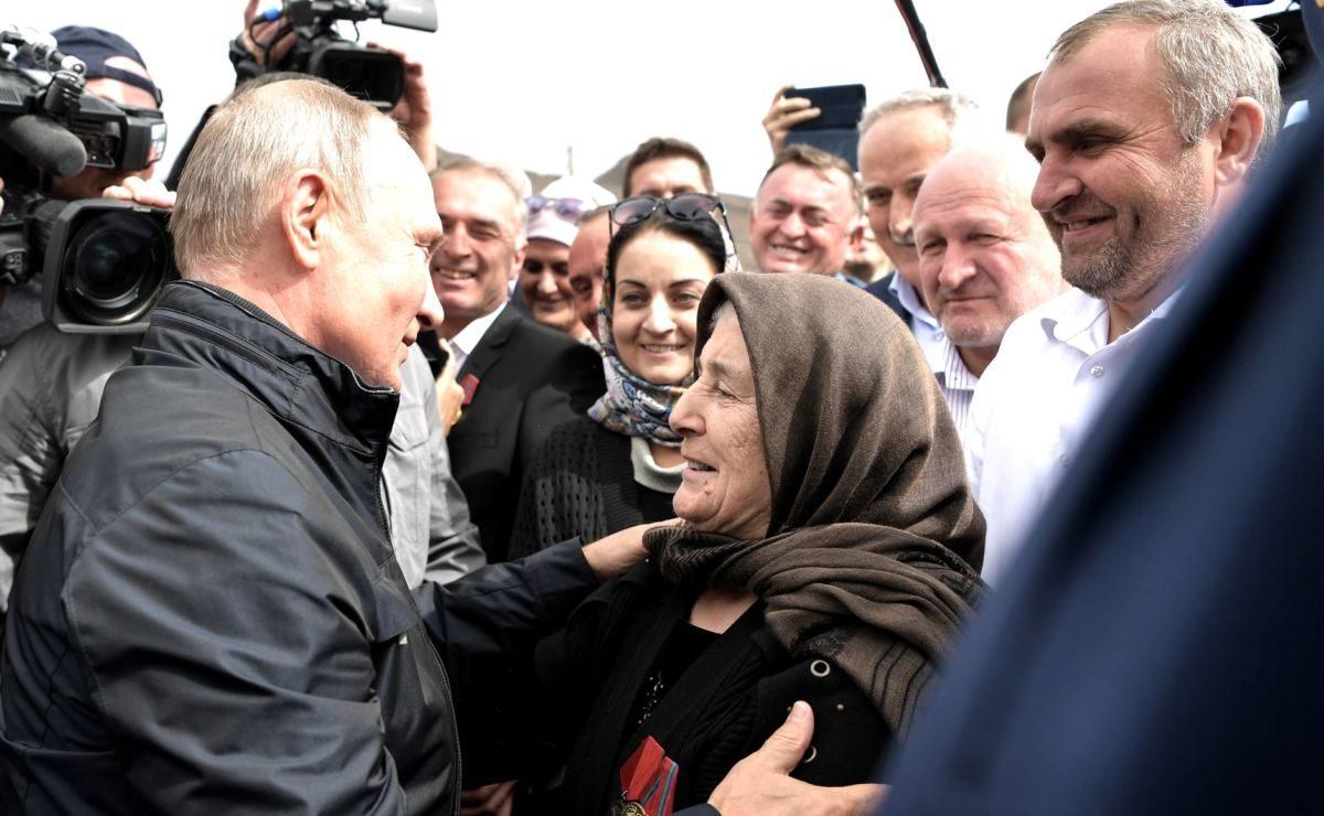 20 Jahre nach Beginn des Tschetschenien-Krieges erfüllt Putin im Kaukasus ein Versprechen