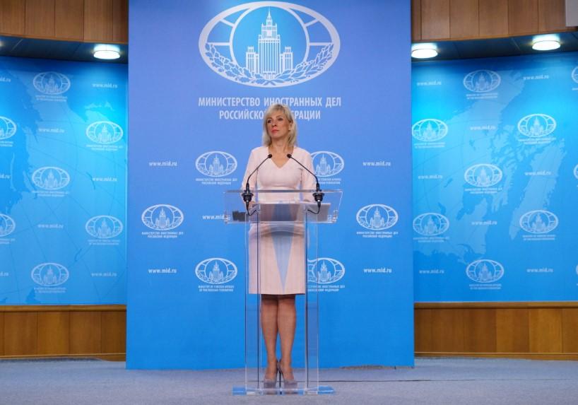 Das russische Außenministerium über die peinliche Reaktion der Bundesregierung auf US-Bombenangriffe in Syrien
