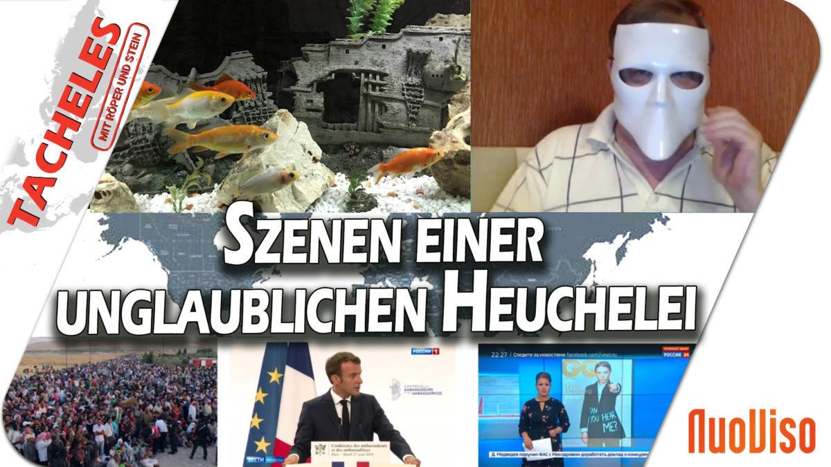 Tacheles #14: Über was die deutschen Medien alles  nicht berichten
