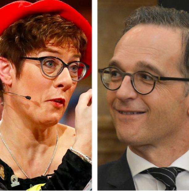 Wettbewerb zwischen AKK und Heiko Maas: Wer ist inkompetenter?