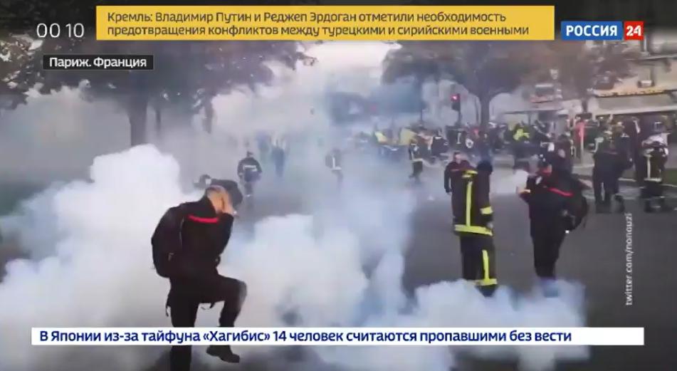 Sonderreihe zu Protesten weltweit: 1. Teil – Proteste in Frankreich, von denen man in Deutschland nichts hört