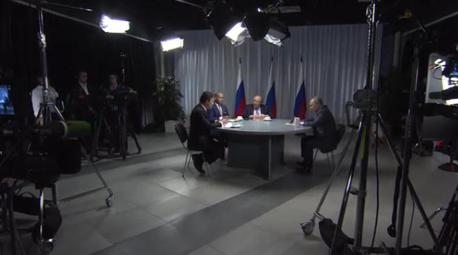 Putin im O-Ton über ein neues Wettrüsten und die Beziehungen zu den USA