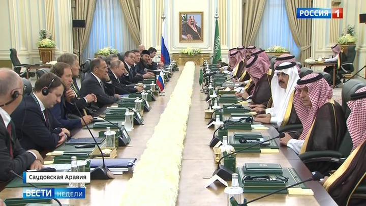 Putin auf Staatsbesuch in Saudi-Arabien – Worüber die deutschen Medien nicht berichtet haben