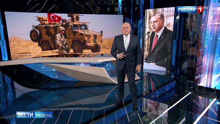 Mit einer gewissen Genugtuung: Das russische Fernsehen über die Entwicklungen in Syrien