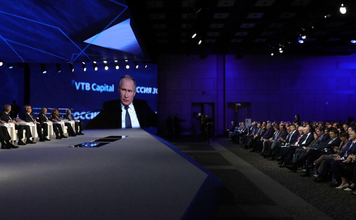 Putin im O-Ton über die Ukraine und ihren neuen Präsidenten Selensky