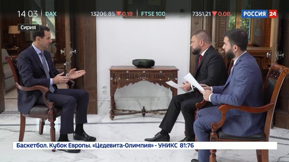 Interview im russischen Fernsehen: Was weiß Assad über den Tod des Gründers der Weißhelme?