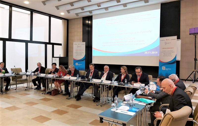 Anti-Spiegel auf der Konferenz über Pressefreiheit in Prag mit über 100 Teilnehmern aus 25 Ländern