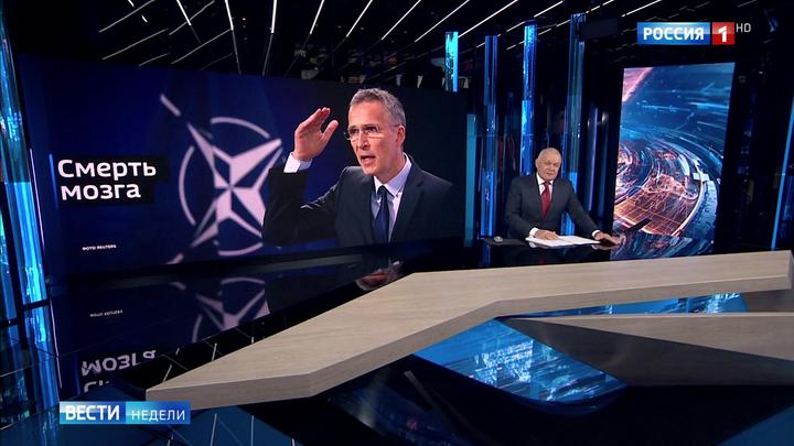 """""""Nato ist hirntot"""" – Das russische Fernsehen über Macrons Interview im Economist"""
