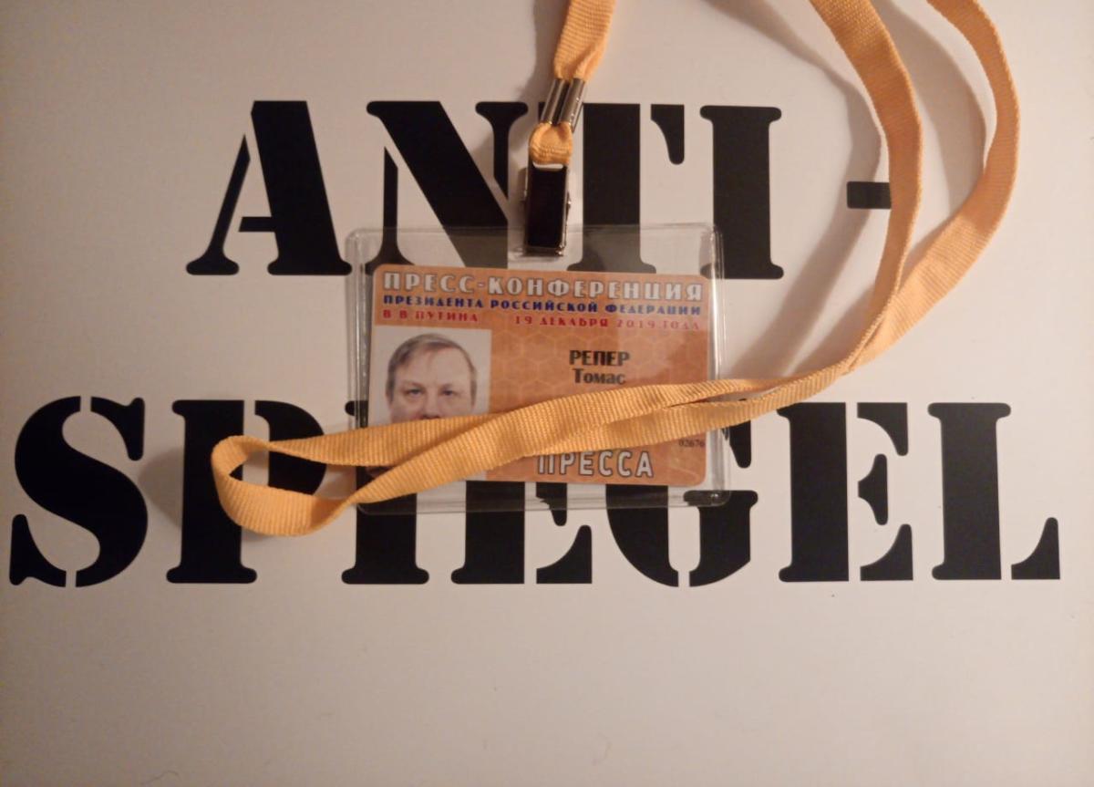 In eigener Sache – Wegen Besuch von Putins Jahrespressekonferenz: Sendepause bis Freitag