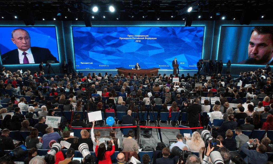 In eigener Sache: Der Anti-Spiegel ist bei Putins Jahrespressekonferenz dabei