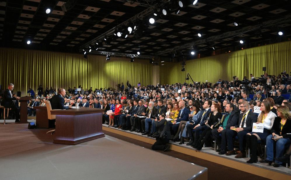 Anti-Spiegel bei Putins Jahrespressekonferenz: Erster Erlebnisbericht