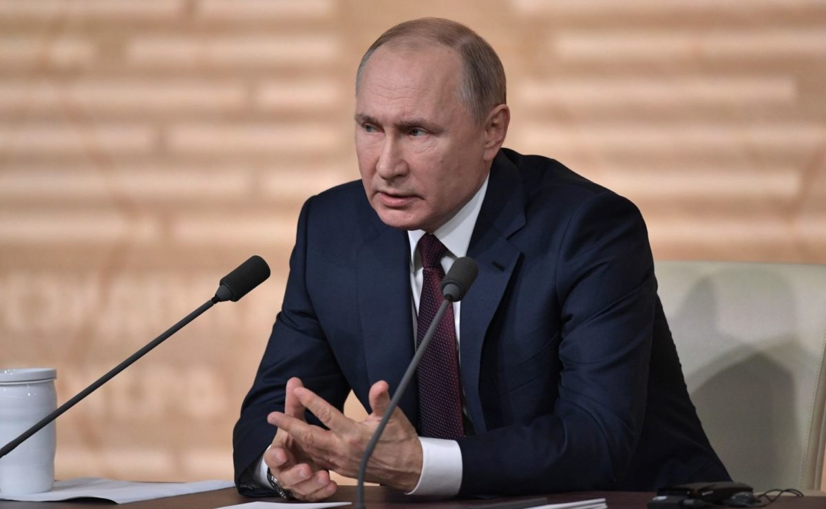 Jahrespressekonferenz: Putin im O-Ton zum Tiergarten-Mord